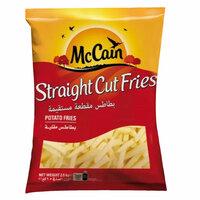 McCain Frozen Potato Family Straight Cut 2.5kg