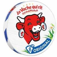 La Vache qui rit Original Spreadable Cheese Triangles 8 portions 120g