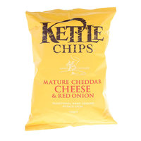 Kettle Chips Nature Cheddar Cheese With Red Onion 150g