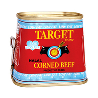 Target Corned Beef Low Fat 198GR