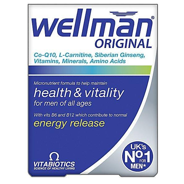 Vitabiotics Wellman Original For Men of All Ages 30 Tablets