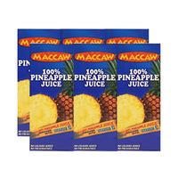 Maccaw Juice Pineapple 125ML X6
