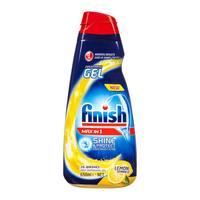 Finish dishwasher detergent gel lemon scented 650 ml