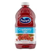 Ocean Spray Light Cranberry Juice 1.89L