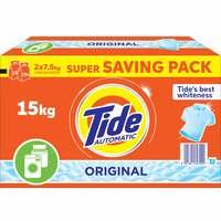 Tide Automatic Detergent Powder Original 15kg