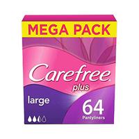 Carefree Plus Large 64 Pads