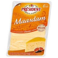 President Maasdam Cheese Slices 150g
