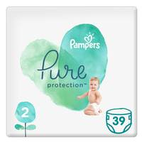 Pampers Pure Baby Diaper Value Pack Size 2 39 Count