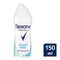 Rexona Women Shower Clean Fresh Antiperspirant Deodorant Aerosol 150 ml
