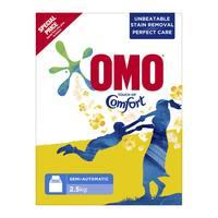 Omo active powder high foam  + comfort 2.5 Kg