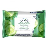 St.ives face wipe cucumber x 25