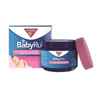 Vicks Moisturising and Soothing Baby Rub 50g