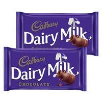 Cadbury Dairy Milk Plain Chocolate 230g x Pack of 2