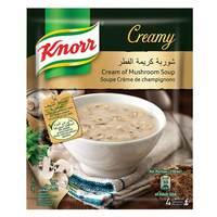 Knorr Packet Cream Of Mushroom Soup 53g
