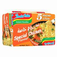 Indomie Special Chicken Instant Noodles 75g x Pack of 5