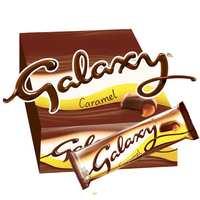 Galaxy Caramel Chocolate Bars 40g x Pack of 24