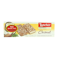 Loacker Milk Chocolate Biscuits with Coconut Cream 100g