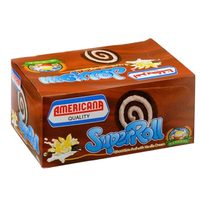 Americana Chocolate Super Cake Roll 60g x Pack of 6