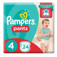 Pampers Pants Carry Pack Size 4 Medium 24 Count 9-14 kg