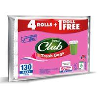 Sanita club trash bag economy pack 5 gallons small 104 bags x 4 rolls