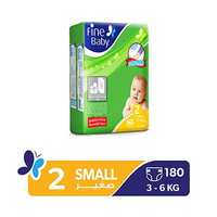 Fine Diapers Jumbo Small 60 Pads