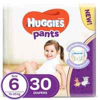 Huggies Pants Diapers Size 6 30 Count 15-25 kg