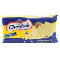 Chesdale Slices Cheese 600g