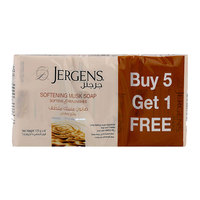 Jergens Softening Musk Soap 125g x 6 Count