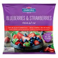 Emborg Blueberries And Strawberries Mix 400g
