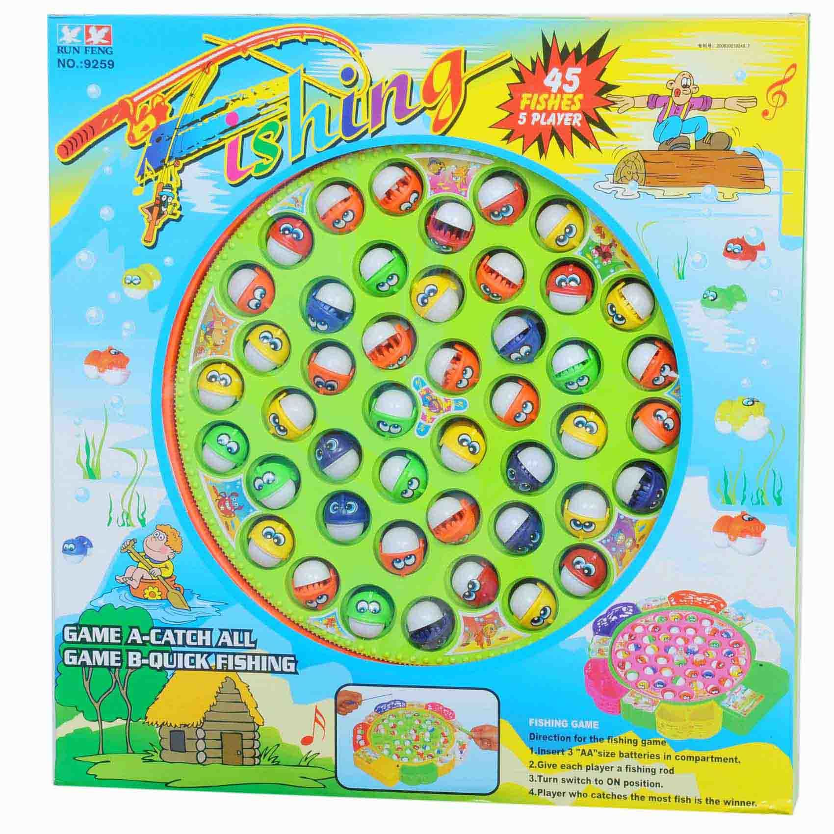Buy Fishing Game Set 45pcs Online Shop Toys Outdoor On Carrefour Uae