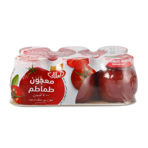 Buy Al Alali Tomato Paste 220 G X 6 Pieces Online Shop Food Cupboard On Carrefour Saudi Arabia