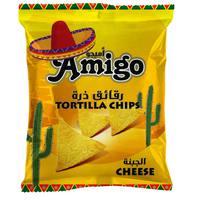 Amigo Cheese Flavored Tortilla Chips 250g