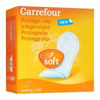 Carrefour women's panty liner 60 pads