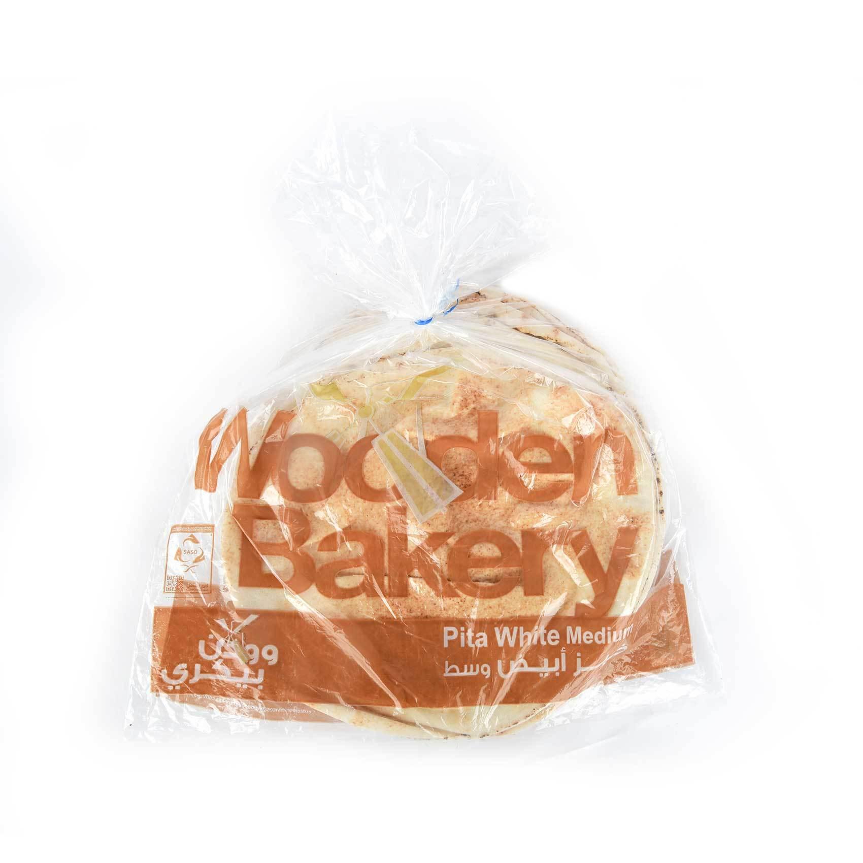 Buy Wooden Bakery White Medium Bread 600 G Online Shop Bakery On Carrefour Saudi Arabia