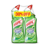 Harpic Toilet Cleaner Active Fresh Pine 750ML X2 -30% Off