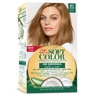 Wella soft color hair color kit 83 light golden blonde