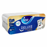 Fine Toilet Roll Extra Strong 12 Roll x Pack of 2