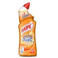 Harpic Toilet Cleaner Liquid Active Fresh Peach & Jasmine 500ml