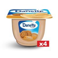 Danette Cookies Cream Dessert 90g x Pack of 4