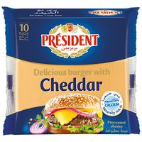 President Delicious Cheddar Cheese 200g