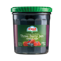 Al Wadi Al Akhdar Jam Three Berry Low Sugar 310GR