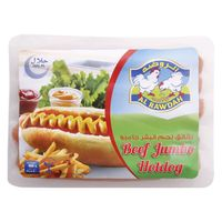 Al Rawdah Beef Hot Dog Jumbo 400g
