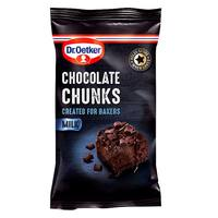 Dr.Oetker Milk Chocolate Chunks 100g