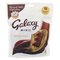 Galaxy Minis Smooth Milk Chocolate Bar 225g (18 Pieces)