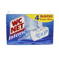 WC Net Intense Toilet Blocks X4