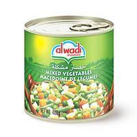 Al Wadi Al Akhdar Vegetables Mixed 800GR