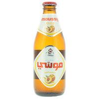 Moussy Peach flavor Non Alcoholic Malt Beverage 330ml