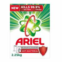 Ariel low foam anti bacterial powder detergent 2.25 Kg