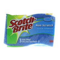 Scotch-Brite Scrub Non- Scratch Sponges x Pack of 3