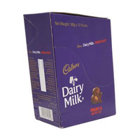 Cadbury Dairy Milk Fruit and Nut Chocolate 100g x Pack of 12
